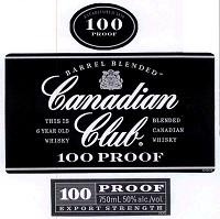 Canadian Club Canadian Whisky Rye 750ml